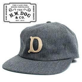 THE H.W.DOG&CO. ドッグアンドコー ベースボールキャップ グレー