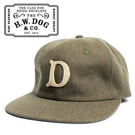 THE H.W.DOG&CO. ドッグアンドコー ベースボールキャップ カーキ