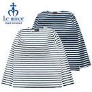 Leminorルミノアバスクシャツボーダーボートネック長袖フランス製