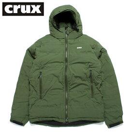 crux ダウンジャケット クラックス マグマジャケット 防水透湿 800 EUフィルパワー グリーン