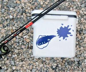 【釣り・アウトドア】墨吹きイカ・烏賊ステッカー・アオリイカシール