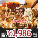 本日限定販売1500円オフ!!【博多肉餃子】黒豚餃子 50個(10個入り×5パック)国産黒豚肉・国産野菜を使ったお肉たっぷ…