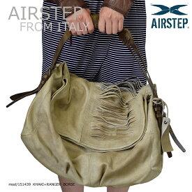 レザーショルダーバッグ 本革レザーバッグ インポートブランド 本革 鞄 かばん レザーバッグ レザーバック メンズ レディース AIRSTEP 151439