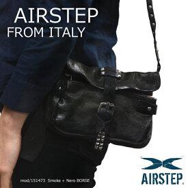 本革レザーバッグ クラッチバッグ インポートレザーバッグ ブランドバッグ ショルダーバッグ コンパクトレザーバック 鞄 レディース AIRSTEP 151473