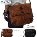 Shoulder bag (LEATHER SHOLDER BAG)HEBE 732 (at real leather bag leather bag  leather back men shoulder bag shoulder back bias bag mail order Rakuten) of  the ... 0e99afdacb6fb