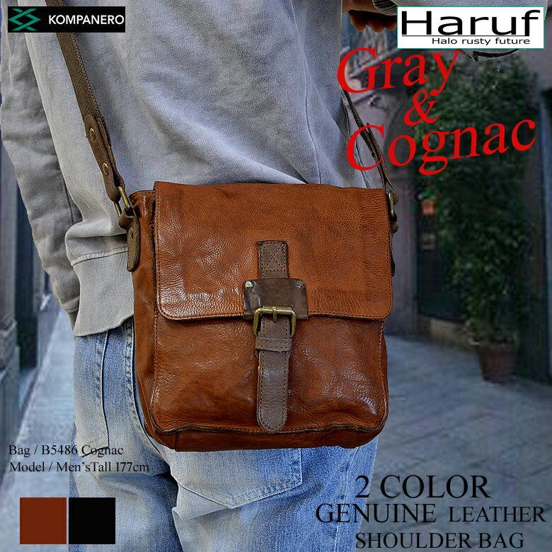 本革 レザーショルダーバッグ 革バッグ レザーバッグ メンズ レディース ショルダーバッグ 斜めがけ バッグ 鞄 B5486