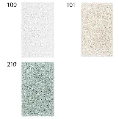 [国内正規品]バスマットBRIGHTON約50×80cm全3色/ABYSS&HABIDECOR(アビスアンドハビデコール)[浴室バスルームインテリアおしゃれブランドホテルホテル仕様大きい大判綿コットン天然素材洗えるギフト贈り物花柄]