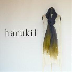 【harukii】麻100% ストール 大判 春夏 夏 冷房対策 国産 超軽量 超薄手 レディース メンズ ユニセックス 肌に優しい柔らかさ 紫外線対策 日よけ