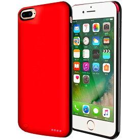 新品 iPhone 8 Plus/7 Plus/6 Plus/6s Plus バッテリー内蔵ケース 大容量 急速充電 アイフォ7プラスケース 軽量 薄型 バッテリーケース モバイルバッテリー 5200mAh