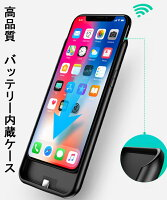2b8399850c PR 新品 バッテリー内蔵ケース 6800mAh 大容量 iPhone XR 専用 .