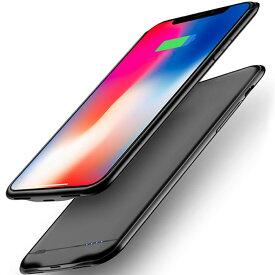 新品 iPhoneX/XS/10 バッテリー内蔵 ケース対応 8500mAh バッテリーケース バッテリー内蔵ケース 軽量 大容量 充電ケース iPhonexs/x/10 対応 ケース型バッテリー 急速充電 コードレス 5.8インチ専用 battery case