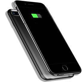 新品 軽量 超薄 大容量 iPhone 8 Plus / 7 Plus / 6s Plus 6800mAh 耐衝撃 バッテリー内蔵ケース 急速充電 全面保護ケース 超便利 スマホケース