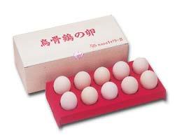 純種烏骨鶏有精卵10個・化粧箱入り【北海道・九州は送料が1296円に変更されます。】