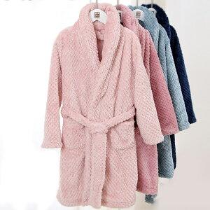 ルームウェア 子供パジャマ 部屋着 秋冬新品 あったか 長袖 前開き ネグリジェ バスローブ ガウン キッズ 女の子 男の子 寝巻き もこもこ ベビー 着る毛布