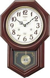 SEIKO CLOCK (セイコー クロック) 掛時計/掛け時計 チャイム&ストライク 電波時計 ツイン・パ RQ205B