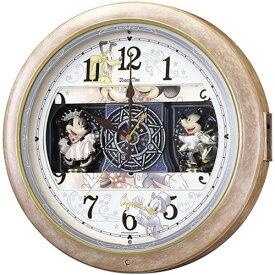 【名入れ 文字入れ無料】SEIKO CLOCK (セイコー クロック) キャラクタークロック Disney Time(ディズニータイム) 掛け時計 ミッキー&フレンズ 電波時計 ツイン・パ FW561A