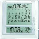 SEIKO CLOCK (セイコー クロック) 掛時計 置時計/置き時計 兼用 マンスリーカレンダー機能 六曜表示 デジタル 電波目…
