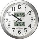 RHYTHM (CITIZEN) 掛時計 オフィスタイプ プログラムカレンダー404  4FN404SR19