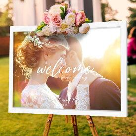 ウェルカムボード welcom board HARU's Art Design A4/B4/A3 ウェディング 結婚式 ウェルカムスペース