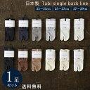 【10%OFF】日本製 綿 100% 足袋 ( 2本指 ) 1足組 靴下 メンズ カジュアル スニーカー ソックス 23~29 cm 23 24 25 26 …