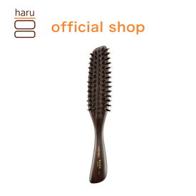 天然の猪毛が枝毛・切れ毛を予防し、髪をツヤツヤ・サラサラに。【つや出し天然ブラシ】