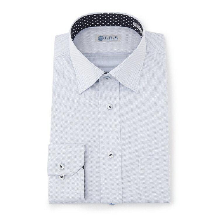 I.B.Sセミワイドカラーワイシャツ(スパークガード)/その他/ブルー