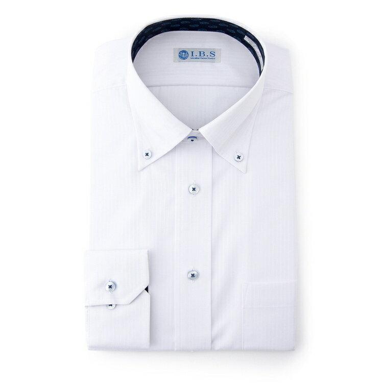 I.B.Sボタンダウンワイシャツ(スパークガード)/その他/ホワイト