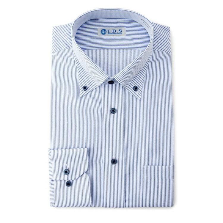 I.B.Sボタンダウンワイシャツ(スパークガード)/その他/S.ブルー