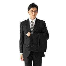 スーツ/2ピース/スタンダード/MARIO VALENTINO/秋冬/ブラック/シャドウストライプ/ブランドスーツ/高級生地使用/ツーパンツ/