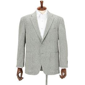【春夏】軽量ジャケット メンズ 織柄 グレー KANSAI YAMAMOTO カンサイヤマモト サマージャケット 涼しい はるやま ジャケット クールビズ 在宅ワークにもおすすめ 防しわ素材