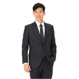 スーツ メンズ 背広 メンズスーツ 2つボタン 2ピース ノータック ブランド 高級生地 無地 ネービー 秋冬 ウール スタンダード MARIO VALENTINO マリオバレンチノ メンズファッション スーツのはるやま