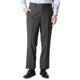 【ウォッシャブルスラックス】清潔パンツ 春夏 ノータック グレー ヘリンボン お買い得 はるやま クールビズ 涼しい スラックス