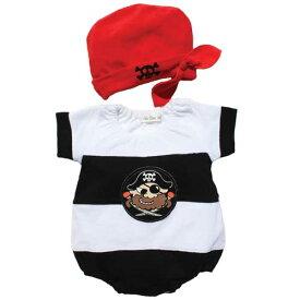 77a83f7230578  海賊ロンパス 帽子付 あす楽 ベビー キッズ 子供服 ひよこ 帽子付ロンパース
