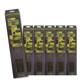 ★ネコポス送料無料★ MOODSTAR INCENSE STICK BLACK CHERRY 6PCS / ムードスター インセンス スティック ブラックチェリー 6個セット(120本) / Room Fragrance お香
