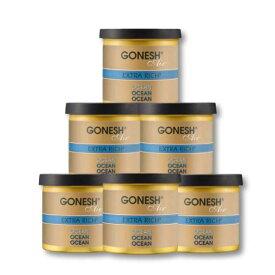 GONESH GEL OCEAN 6PCS / ガーネッシュ ゲル オーシャン 6個セット / AIR FRESHENER 芳香剤