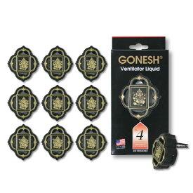 GONESH VENTILATOR LIQUID NO.4 10PCS / ガーネッシュ ヴェンティレーターリキッド NO.4 10個セット / AIR FRESHENER 芳香剤