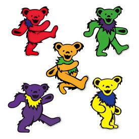 GD DANCING BEAR STICKER / グレイトフルデッド ダンシングベア ステッカー 全5色 シール