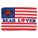 【 BEAR LOVER FLOOR RUG グレイトフルデッド ベアー ラバー フロアラグマット 】GRATEFUL DEAD デッドベア アメリカン雑貨\