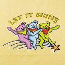 【KIDS YOUTH TEE】レット イット シャインTシャツ-オレンジ/GRATEFUL DEAD/オフィシャル【デッドべアー ユースT バンドT ロックT キッ…