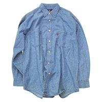 【DENIMSHIRT】グレイトフルデッドSYFボタンデニムシャツ・全1色/オフィシャル【襟付きシャツアウター長袖大きいサイズ】SYFBUTTONDENIMSHIRT【GRATEFULDEAD】【TOPS】【3112】