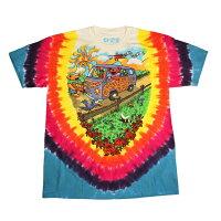 GDSUMMERTOURBUSTDT/グレイトフルデッドサマーツアーバスタイダイTシャツ/GRATEFULDEADロックバンド