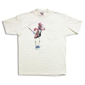 GRATEFUL DEAD STANDING SAM POCKET T-SHIRT / グレイトフルデッド スタンディングサム ポケット Tシャツ / ロック バンド 復刻