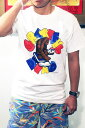 GRATEFUL DEAD MONKEY SKUL T-SHIRT WHITE / グレイトフルデッド モンキー スカル Tシャツ / ロック バンド 復刻