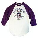【 PEGGY-O BASEBALL TEE 】【 グレイトフルデッド ペギーオー ベースボール Tシャツ 七分丈 】バンド ロック アメカジ ラグラン【6601…