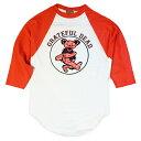 【 BEAUTY BASEBALL 】【 グレイトフルデッド ビューティー ベースボール Tシャツ 七分丈 】 / バンド ロック レア 希少 フェス アウト…