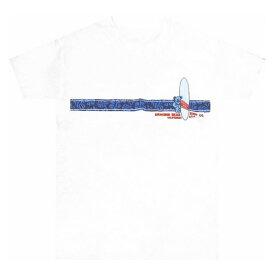GRATEFUL DEAD HIBISCUS STRIPE T-SHIRT / グレイトフルデッド ハイビスカス ストライプ Tシャツ / デッドベアー ロック バンド