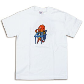 PHISH POLLOCK KIDS ART & CRAFTS YOUTH WHITE T-SHIRTS 【 フィッシュ ポロック キッズ アート&クラフト ユース Tシャツ 】ロック ベビー キッズ