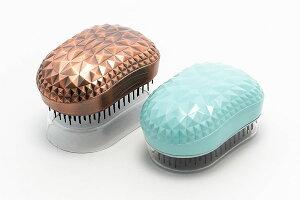 クリスタルドリアン ヘアブラシ ブラッシングするたびにサラサラ艶やかな髪へ 携帯ブラシ 美容 美容師 ヘアサロン ブラシ コーム
