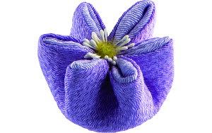お盆 お供え おしゃれ ちりめん コンパクト 贈答用 はせがわ【甘美 香の花 クレマチス 紫】はせがわ