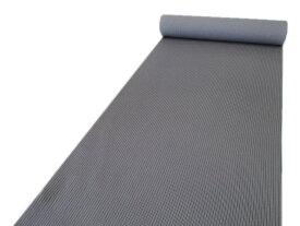 「紫織庵」小紋着物反物グレー地に縞